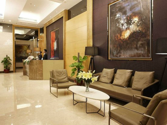 Danton Excutive Apartment Guangzhou Lobby